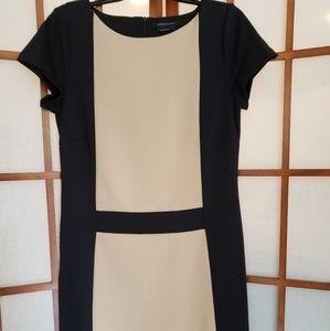 NWOT BCBGMaxAzria color block dress